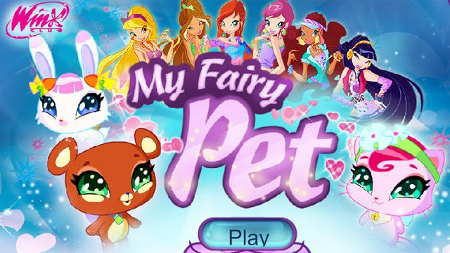 Winx Club  My Fairy Pet  Free Games for Kids  Nick Games