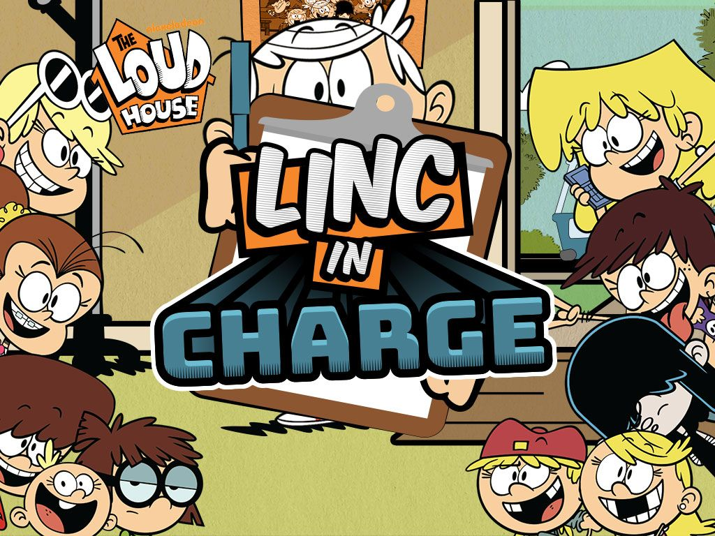 Linc In Charge Loud House Games