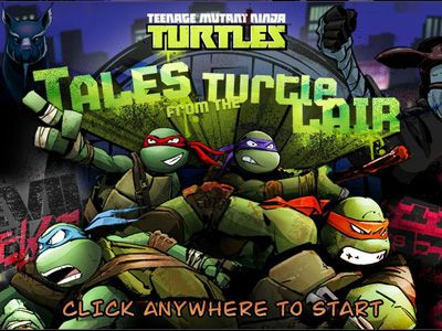 Teengage Mutant Ninja Turtles Games Tales From The