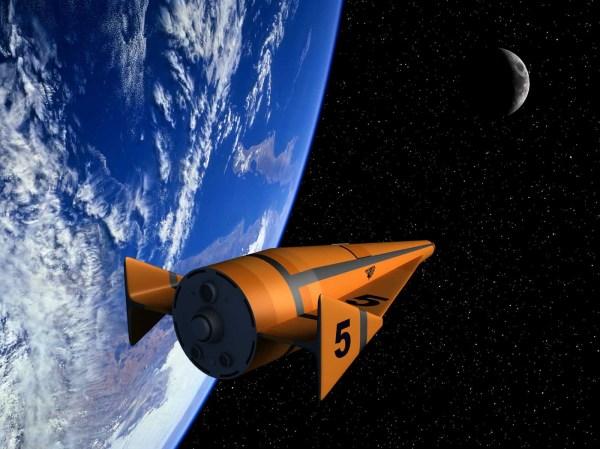 Work 1958 Lockheed Shuttle Design - Nick Stevens Graphics