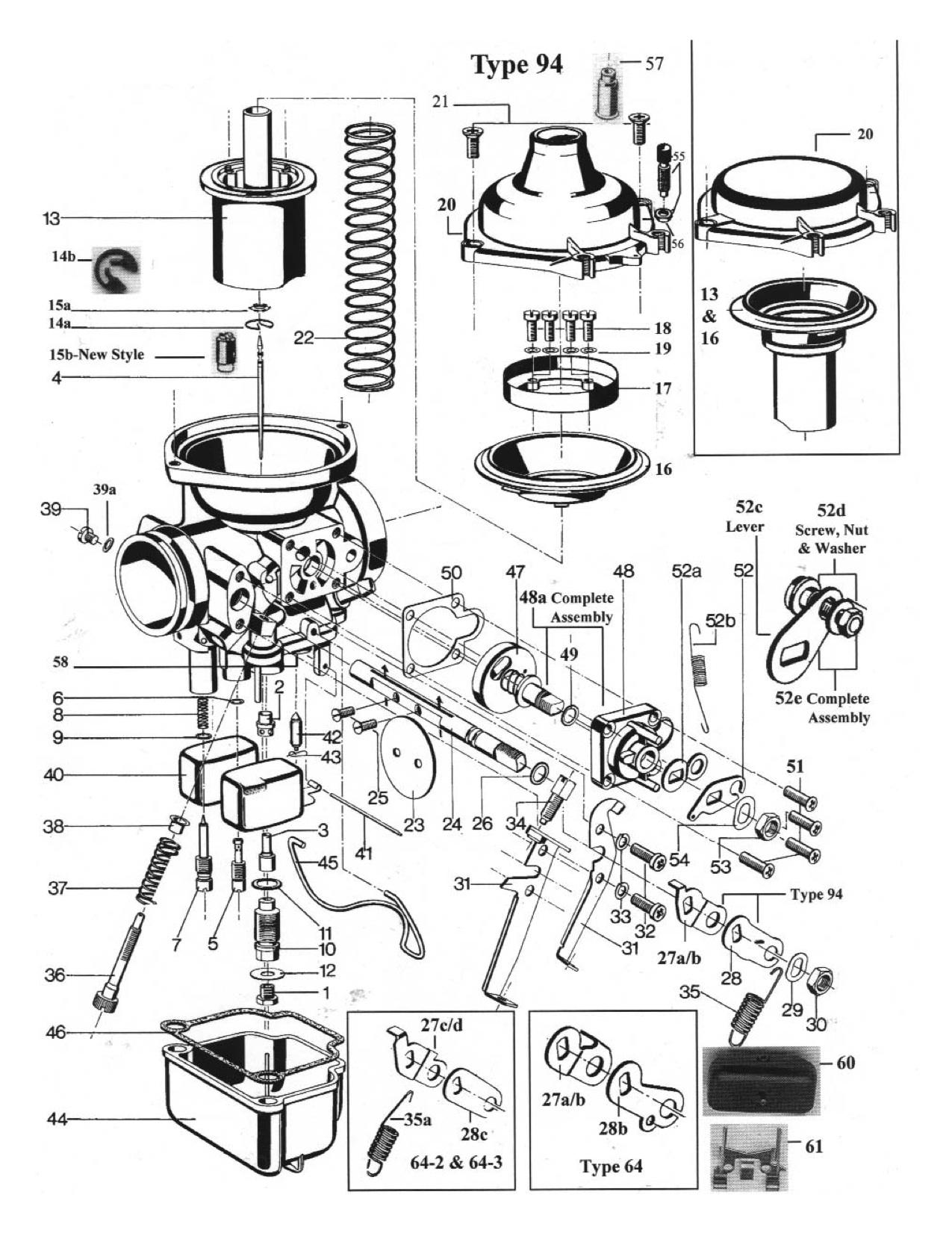 Harley Carburetor Parts Diagram