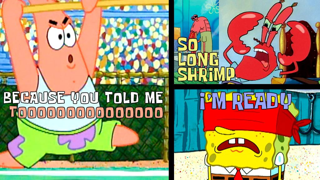 spongebob squarepants official tv