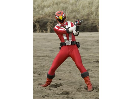 The RPM Ranger joins in the battle against the thugs who followed him across space.