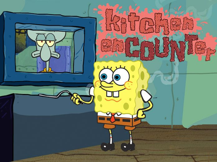 www ninja kitchen com cabinet distributors spongebob squarepants: encounter