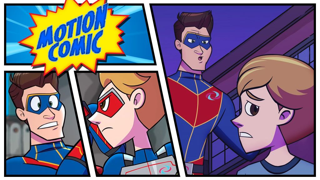Henry Danger Motion Comics Season 2