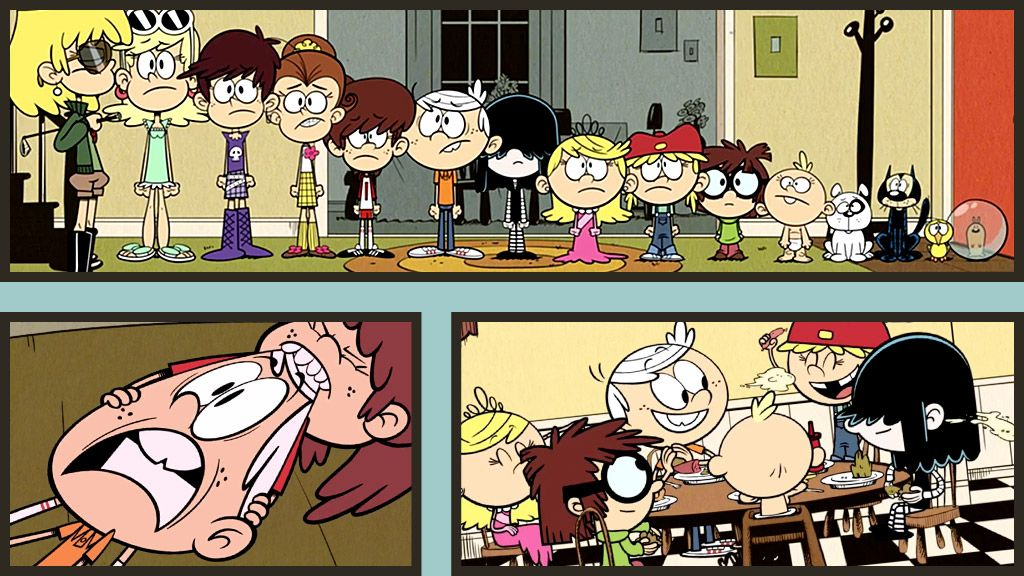 The loud house full episodes a tale of two tables the sweet spot
