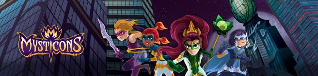 The Mysticons are Going From Screen to Shelf!