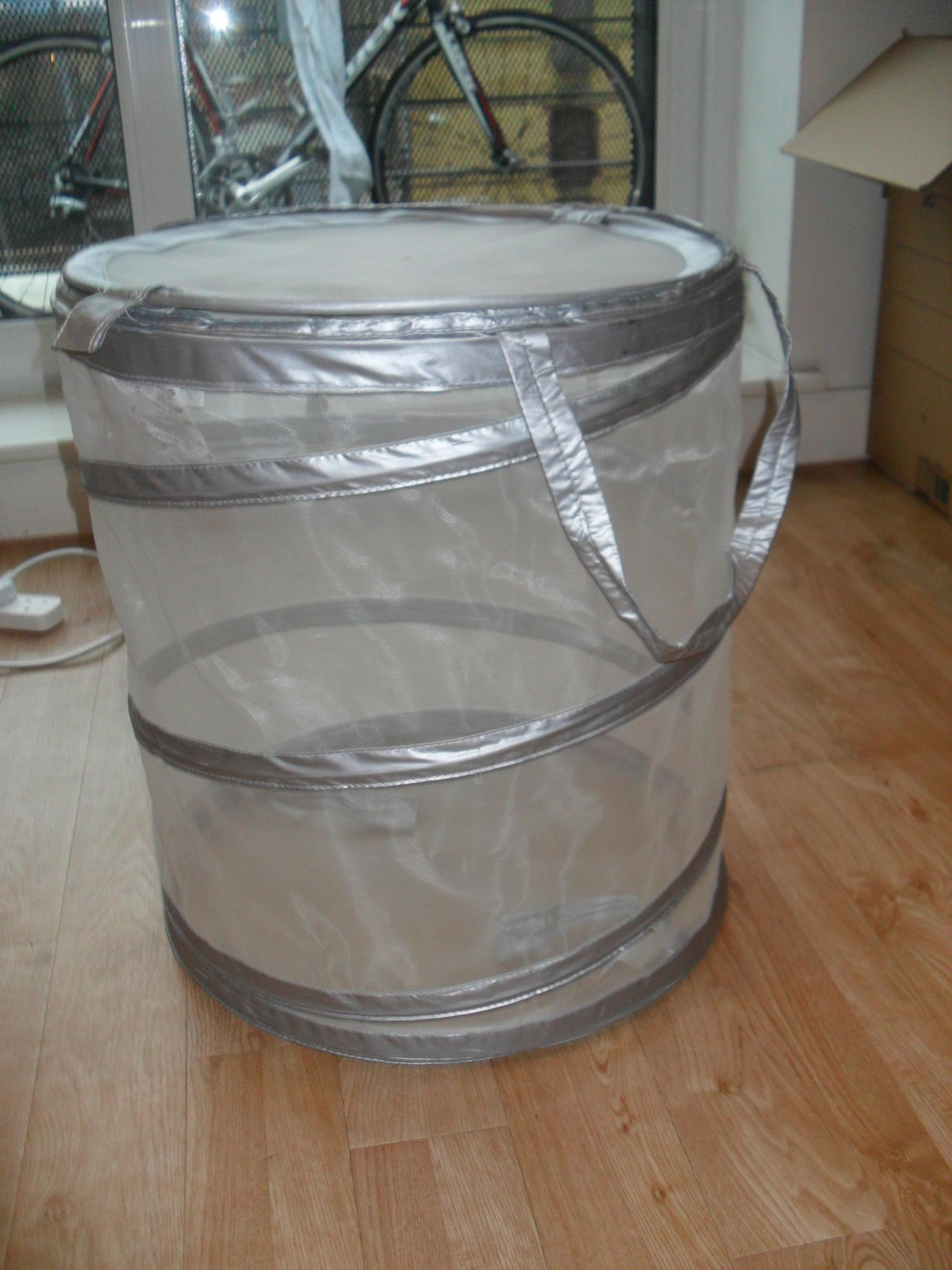 kitchen small appliances white granite countertops ikea fyllen laundry basket – £4 obo   nick and dj sell ...