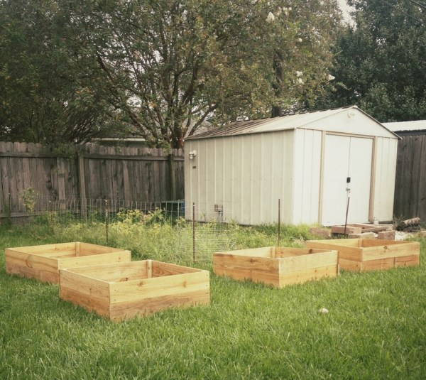 Above Ground Planter Boxes