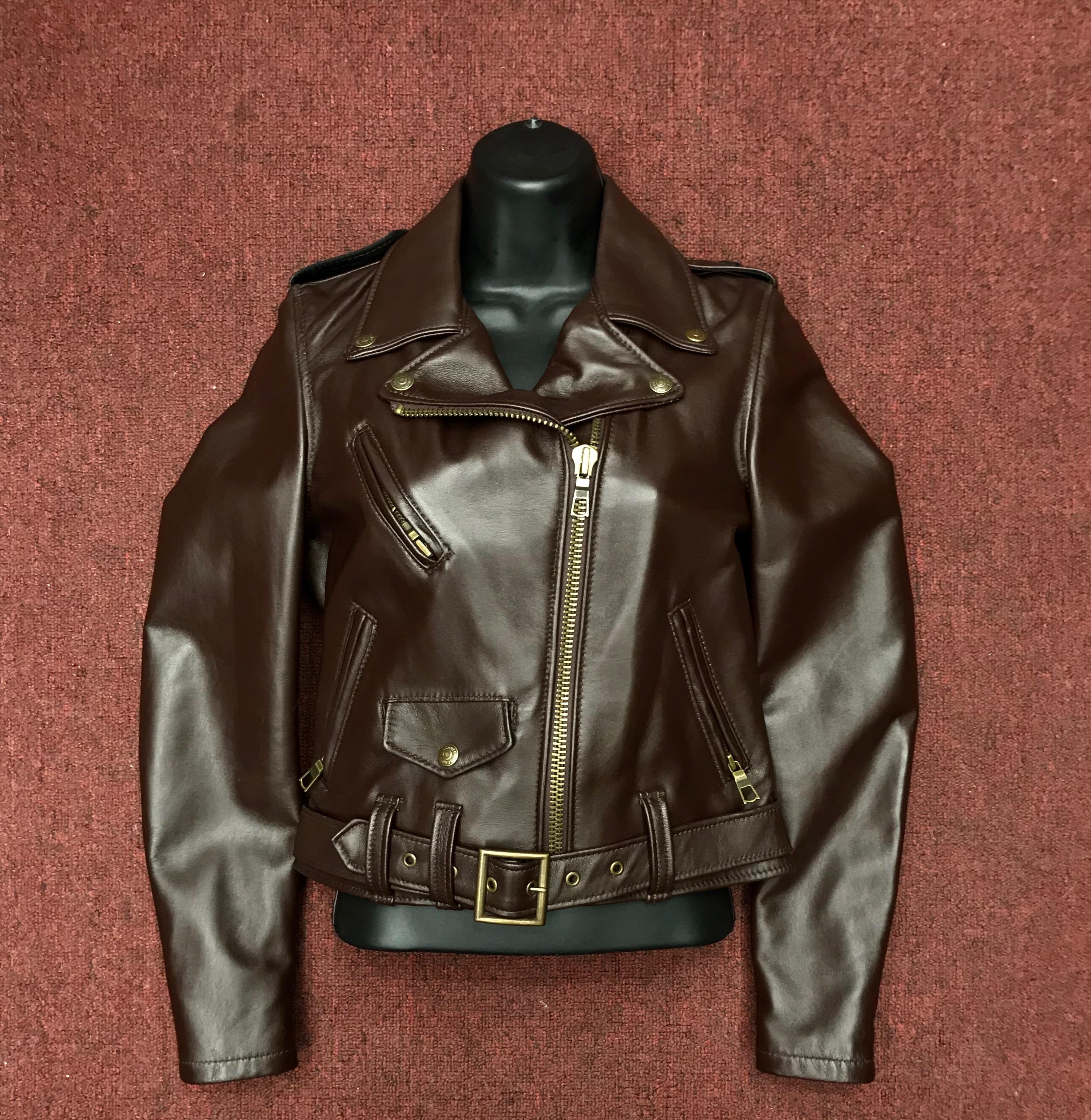 82167ef37 Schott Women Lambskin Perfecto Leather Jacket