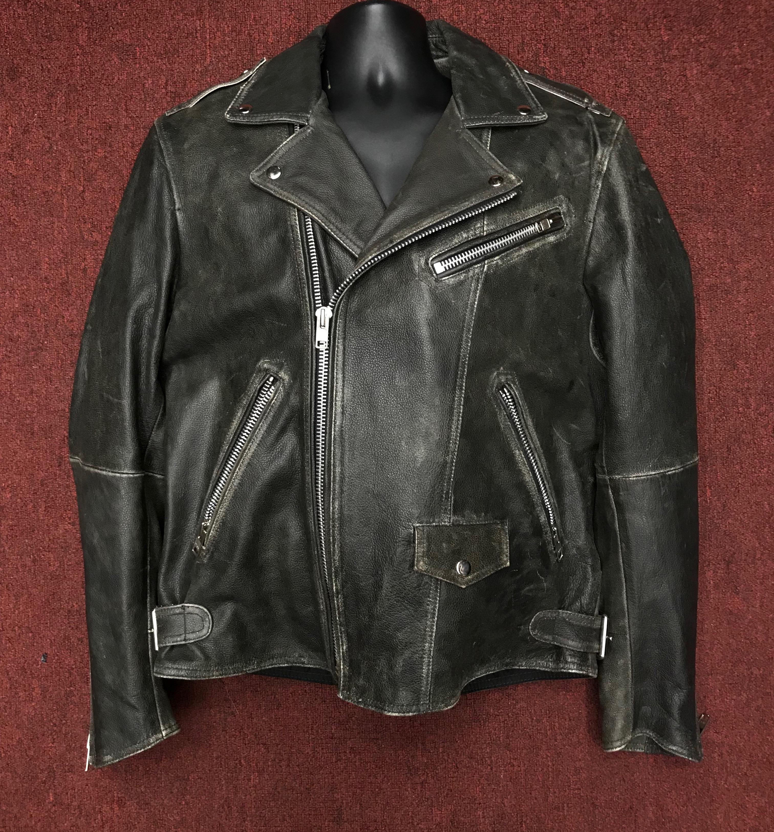 Mens Motorcycle Jacket Enforcer Nick Son