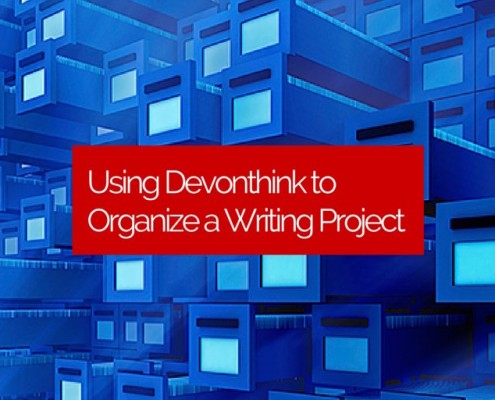 Using-Devonthink-to-Organize-a-Writing-Project
