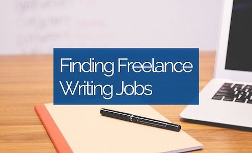 finding freelance writing jobs