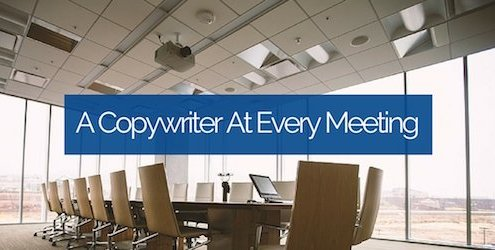 A Copywriter At Every Meeting