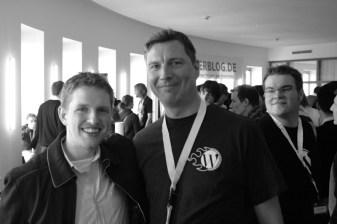 Matt Mullenweg, Olaf von wpde.org und ich...