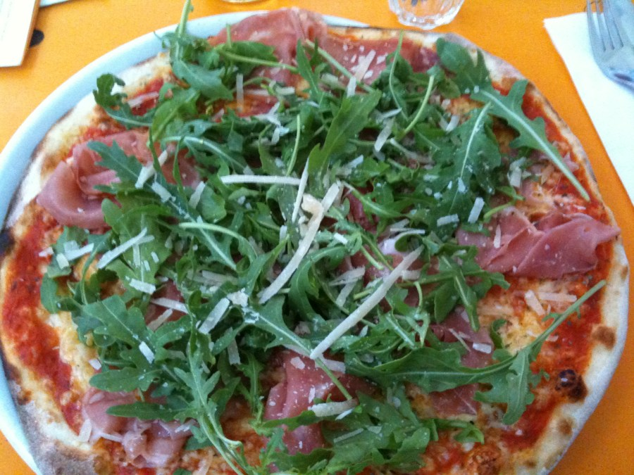 Pizza @ Menta, Düsseldorf