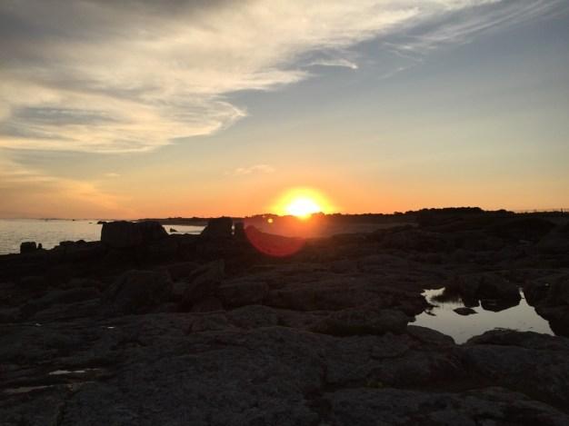 Sonnenuntergang I @ Lesconil, Frankreich