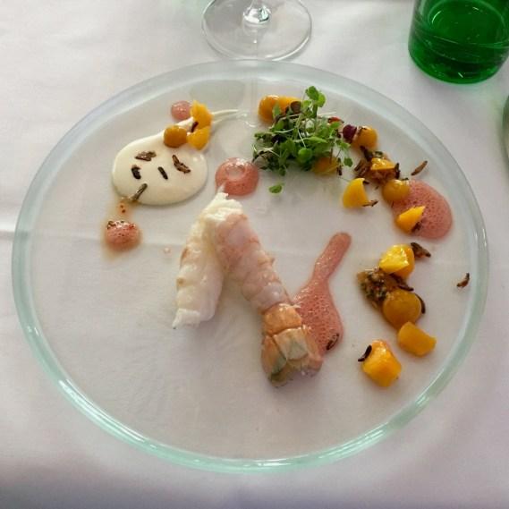 Langostinos - Mango - Yuzu - Crème fraîche | GUI, Bielefeld