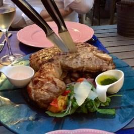 T-Bone Steak vom Piemonteser Rind @ Casa Pavoni, Hamburg