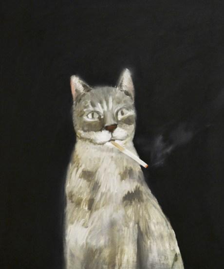 catsmoking