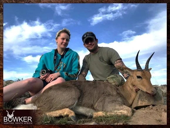 Mountain Reedbuck part of an African hunting package