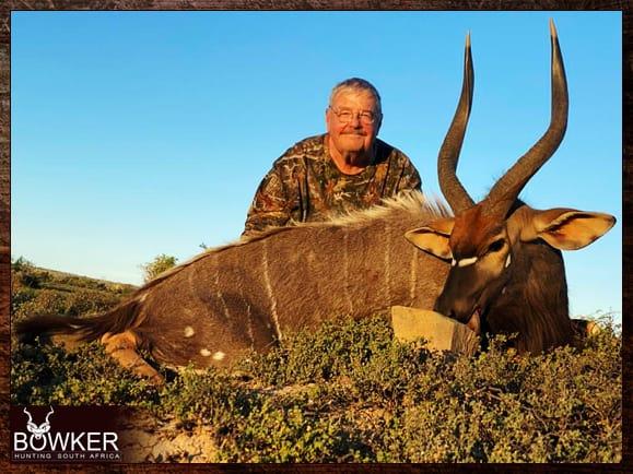 Nyala guided hunt