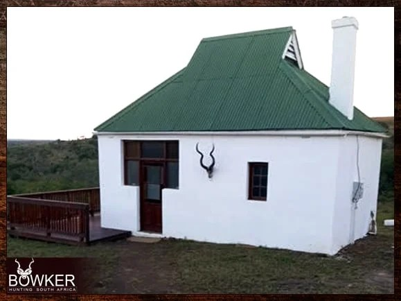 My hunting accommodation with Nick Bowker