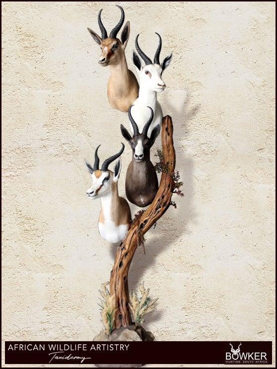 Springbok slam combination floor pedestal mount