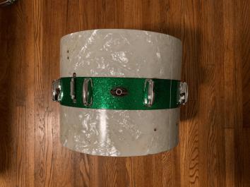 60s Slingerland Tenor Tom Drum restored by nick costa