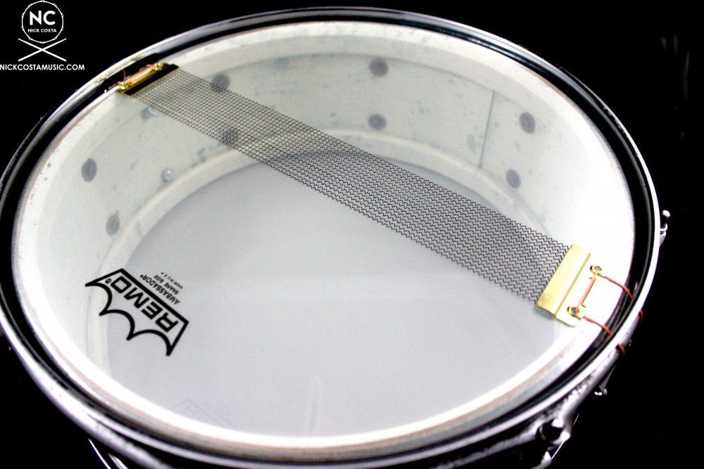 1968 Ludwig Jazz Festival Vintage Snare Drum Black Diamond Pearl 5 X 14