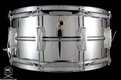 2000s Ludwig Supraphonic Snare Drum Keystone Badge : 6.5 X 14