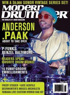 August 2019 Modern Drummer Nick Costa Drums Nick Costa Music Nick Costa educator