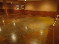 Diy Stain And Polish Concrete Floor | TheFloors.Co