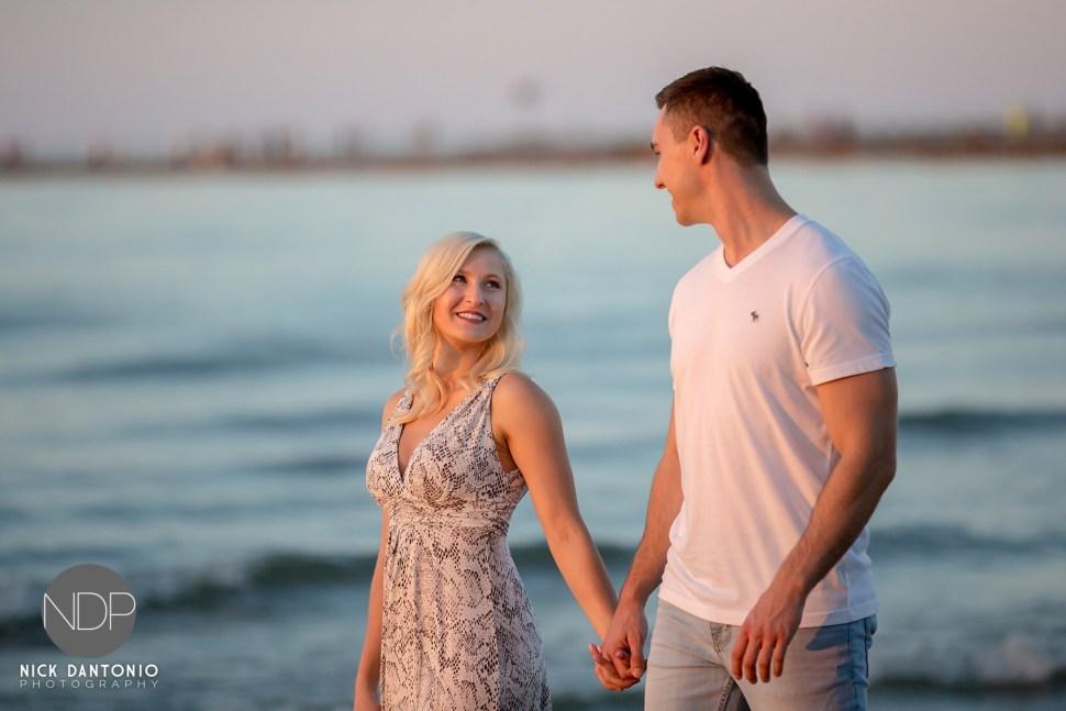 10-Charlotte Beach Engagement