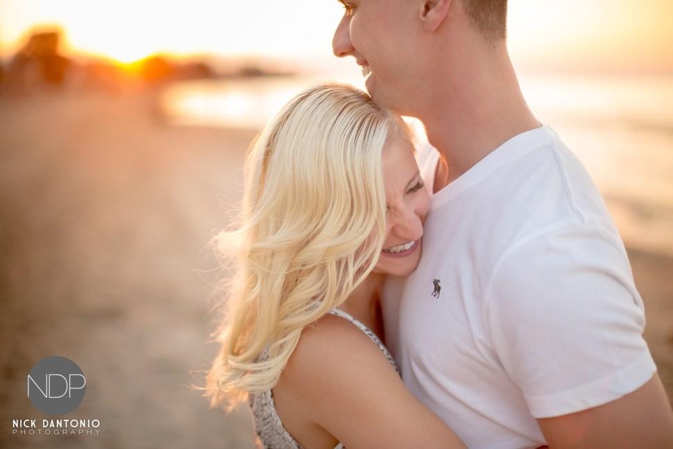 12-Charlotte Beach Engagement