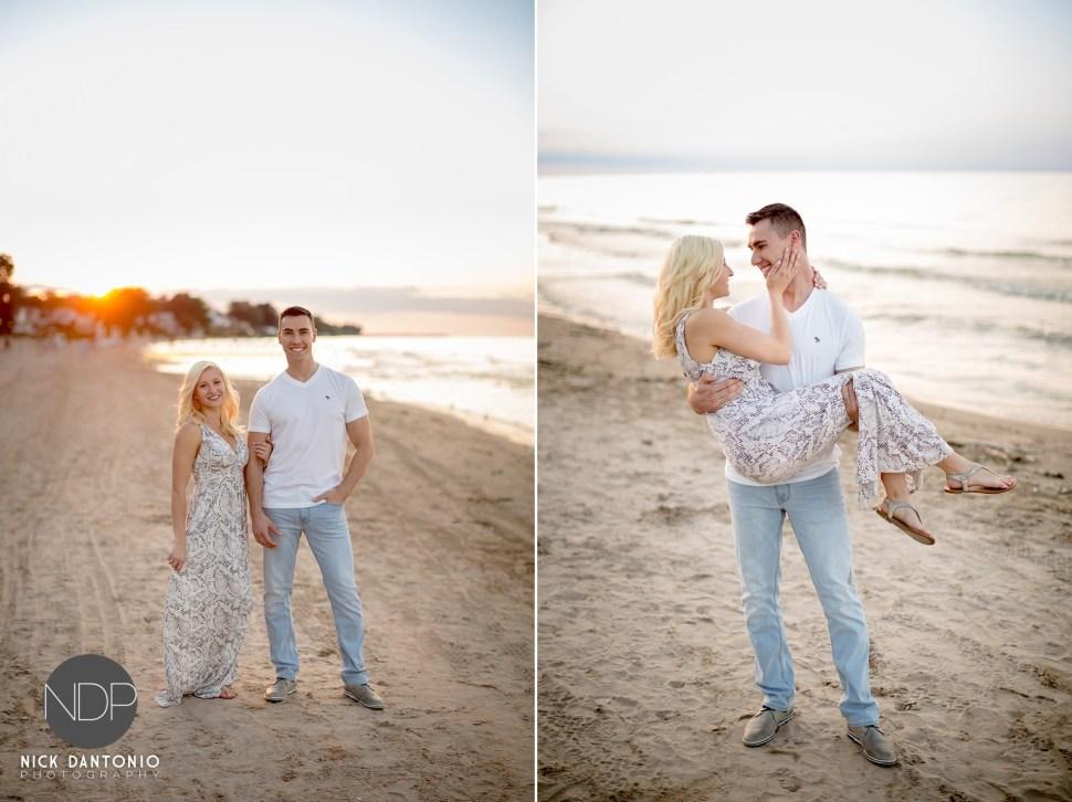 13-Charlotte Beach Engagement
