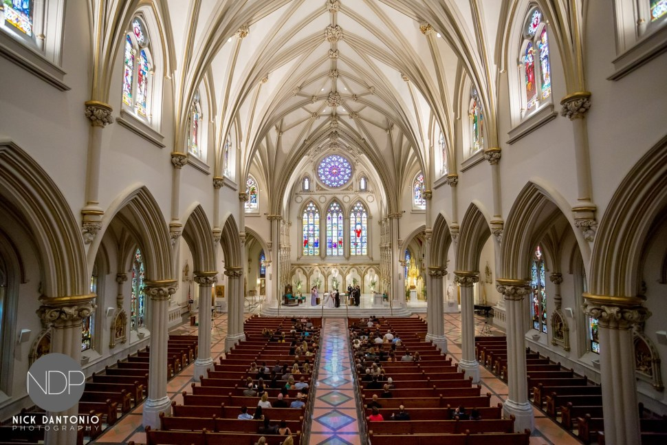 19-Buffalo St Joseph's Cathedral Wedding