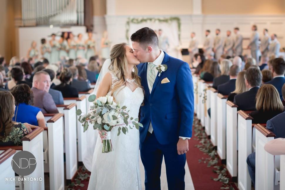 47-Clarence Presbyterian Church Wedding
