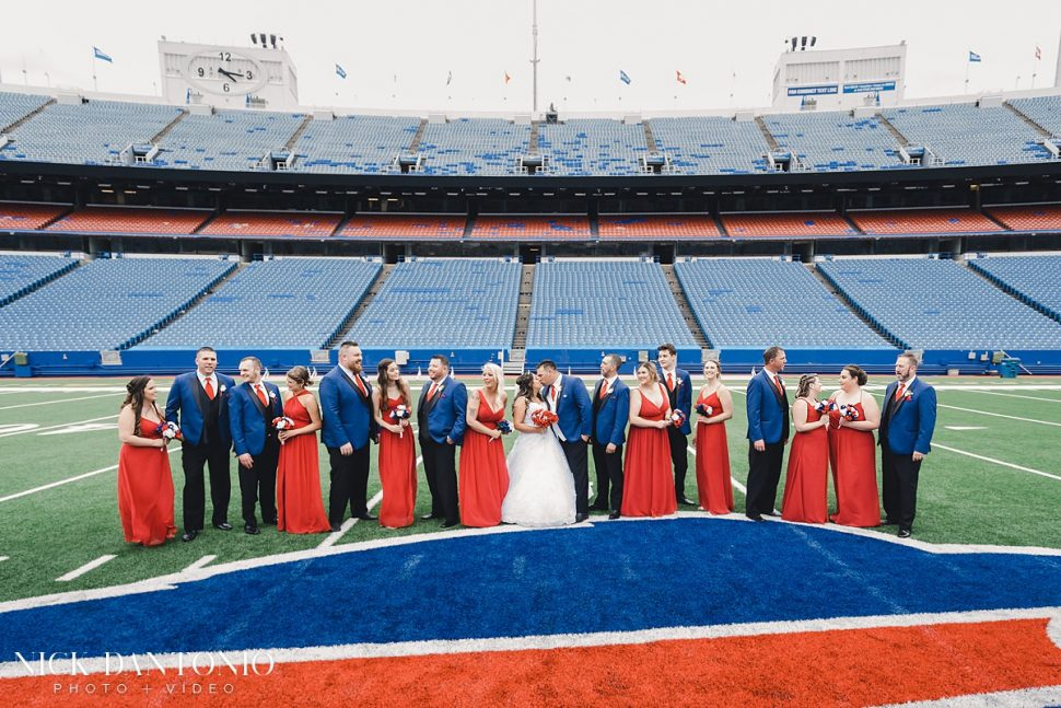 22-Buffalo Bills New Era Field Wedding