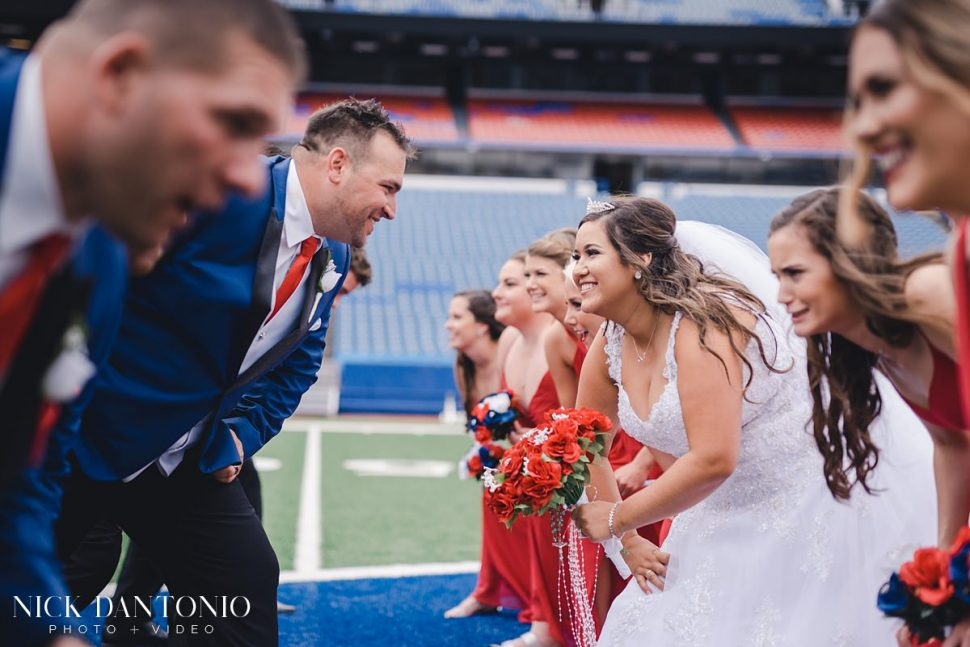 23-Buffalo Bills New Era Field Wedding