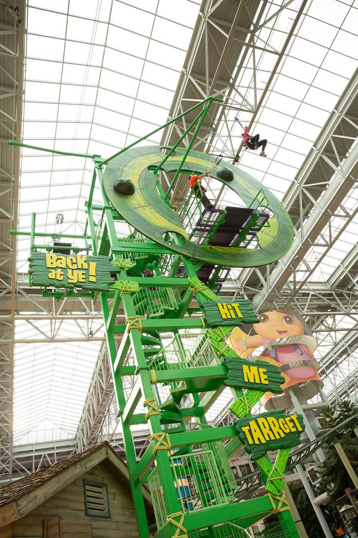 Dutchmans Deck Adventure Course  Nickelodeon Universe