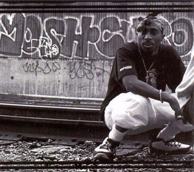 Tupac Shakur (2Pac) Wearing Air Jordan 9