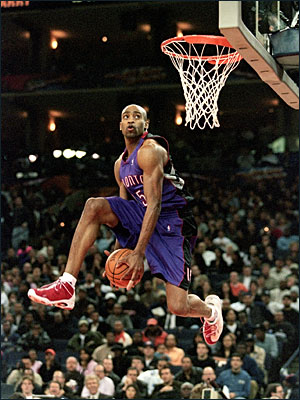 Vince Carter And 1 Tai Chi 2000 Dunk Contest