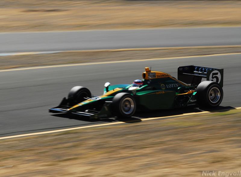 Former BAR Honda F1 driver Takuma Sato - IndyCar at Infineon Raceway at Sears Point/Sonoma CA