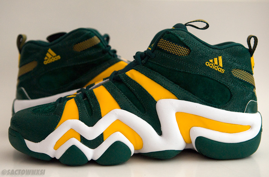 adidas Crazy 8 Player Exclusive Baylor Bears PE PS SM SMU Green/Yellow
