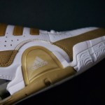 adidas Player Exclusives: Gilbert Arenas TS Bounce Commander White/Gold Wizards Home Sample