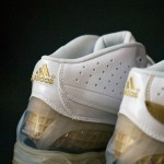 adidas Player Exclusives: Gilbert Arenas TS Bounce Commander White/Gold PE PS Sample