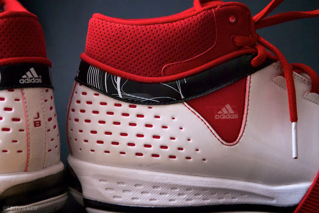 adidas Player Exclusives: Jerryd Bayless TS Creator Blazers Home JB Initials