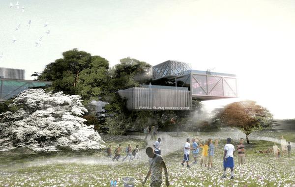 Pharrell builds a $35 million dollar tree house for the kids in Virginia Beach.