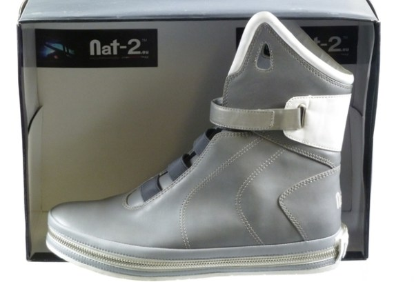 Genuine Imitation Nike Air Mag: Nat-2 Future the not-so Back to the Future shoes.